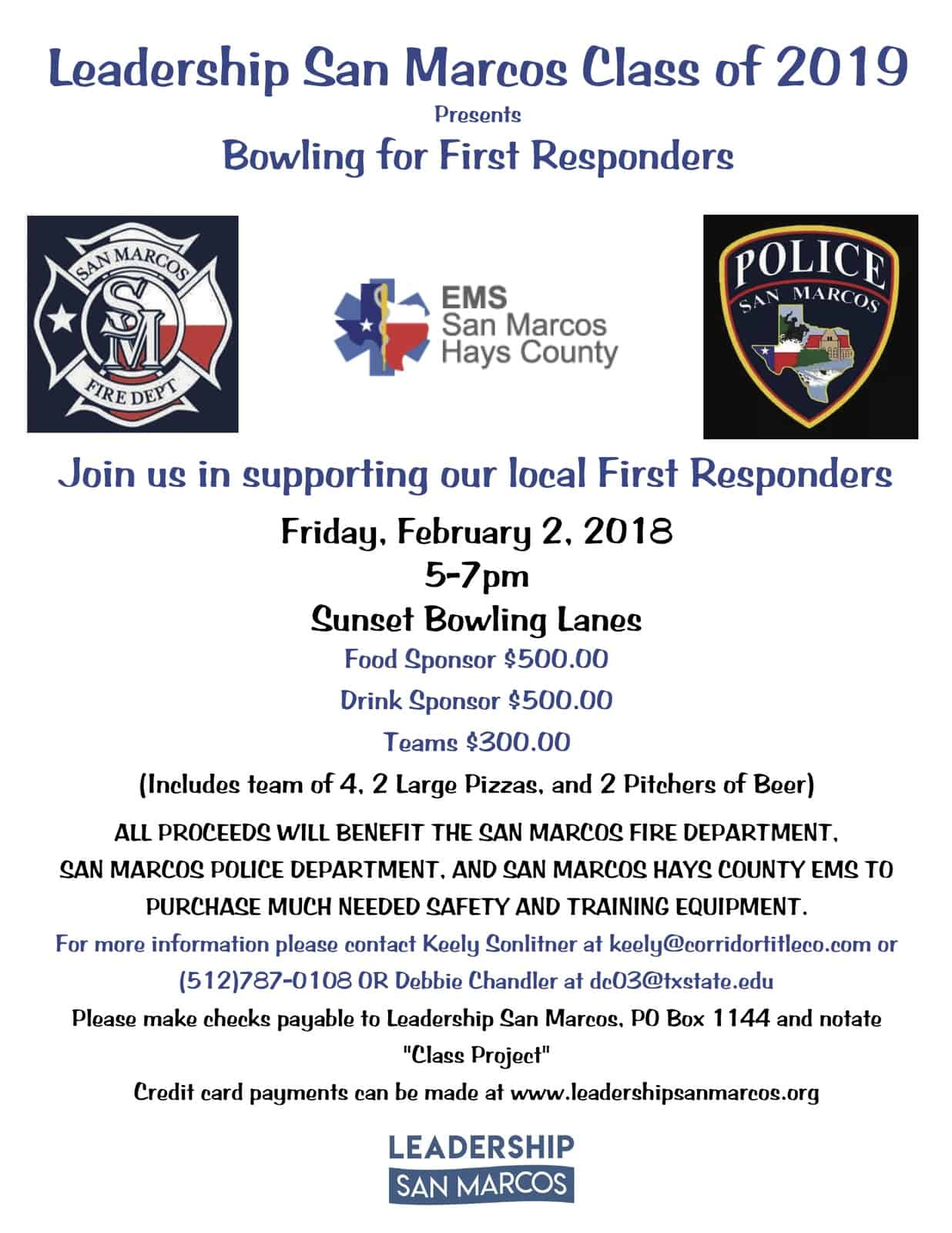 Bowling for First Responders